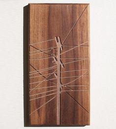 Power Pole Wood Art | Art Pieces | Dave Marcoullier | Scoutmob Shoppe | Product Detail