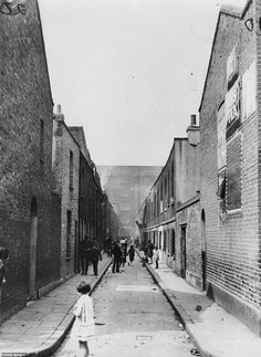 An poster sized print, approx mm) (other products available) - circa Children playing in a street in London& Limehouse. (Photo by Keystone/Getty Images) - Image supplied by Fine Art Storehouse - poster sized print mm) made in the UK Victorian London, Vintage London, Old London, Victorian Life, London Art, Vintage Photographs, Vintage Photos, London History, British History