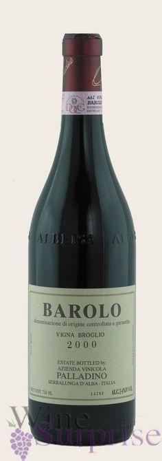 Mi vino favorito  Palladino Barolo