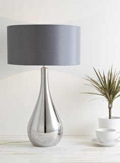 New Lily drop table lamp - BHS
