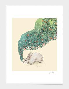 "Curioos.com | ""Spring "" by Laura Graves  - Gallery Quality Art Print"