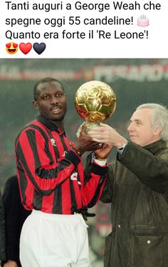 George Weah, Milan, Baseball Cards, Sports, Movie Posters, Movies, Hs Sports, Films, Film Poster