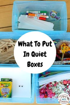 Wondering what to put in your quiet time boxes? Here is our full week of quiet time ideas. Engaging for preschoolers and nice and simple to set up using material you already have at home. Perfect as busy bags or independent and restful play. Morning Activities, Quiet Time Activities, Activities For 2 Year Olds, Sensory Activities Toddlers, Creative Activities For Kids, Indoor Activities For Kids, Kids Learning Activities, Toddler Preschool, Sensory Play