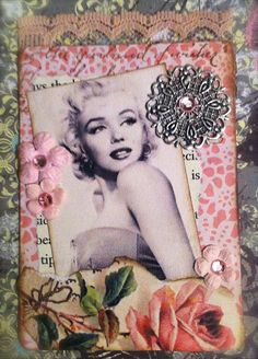 Vintage with a Pink Rose ATC #2 | Flickr - Fotosharing!