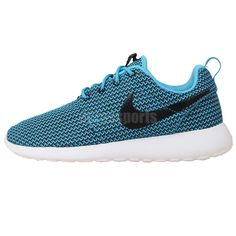 d5374891501c2 Nike Wmns Rosherun Roshe Run Blue Black Womens Fashion Sneakers Running  Shoes http