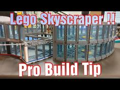 Skyscraper Build Ideas, Lego Building Pro Tip - YouTube