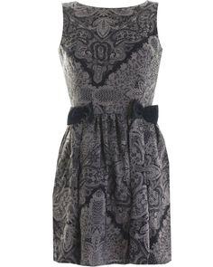 LOVE LACE PRINT BOW DRESS    Price: £32.00