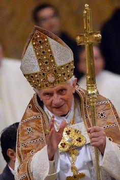 Pope Benedict.