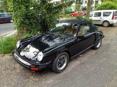 Beauty in Black - Classic Porsche 911 Cabrio