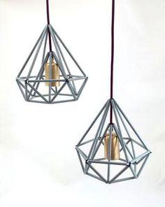 Himmeli leichte Käfig Anhänger Lampe industrielle von LightCookie