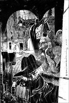 Batman and THe SHadow by Bill Sienkiewicz *