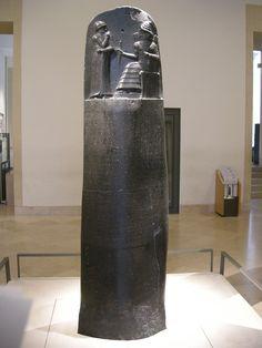 Kodeks hammurabiego, starobabiloński, Luwr