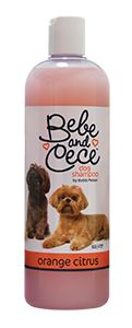 Bebe and Cece dog shampoo by Bobbi Panter Orange Citrus