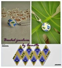 Beaded beads tutorials and patterns, beaded jewelry patterns, wzory bizuterii koralikowej, bizuteria z koralikow - wzory i tutoriale Jewelry Making Tutorials, Beading Tutorials, Beading Patterns, Beaded Beads, Beaded Earrings, Beaded Jewelry Designs, Seed Bead Jewelry, Beaded Christmas Ornaments, Bijoux Diy