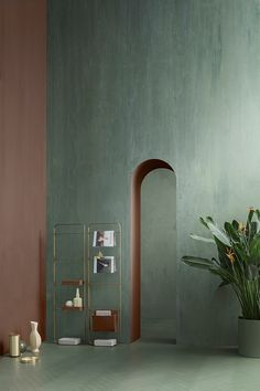 Suede. Bathroom inspired by Art Deco style