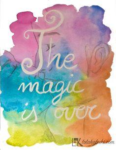 LETTERING MAGIC  #lettering #art #watercolors