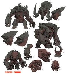 ArtStation - Behemoth 04 Spread, Stephen Oakley