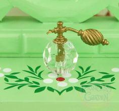 Dollhouse Miniature Bathroom Living Perfume Bottle