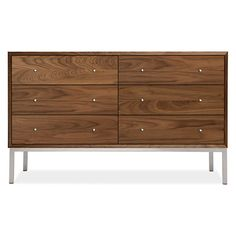 Room & Board Delano Wood Dressers // Modern Dressers // Modern Bedroom Furniture // Bedroom // Decor // Interiors