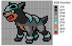 228 Houndour by cdbvulpix.deviantart.com on @deviantART