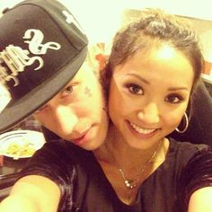 For his girlfriend, Brenda Song. Yep, that Brenda Song.   Just A Reminder That This Is Miley Cyrus' Brother