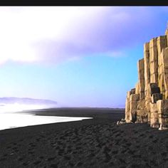 Black beach in Iceland!
