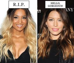 Bye, ombrè. Baliage (painting on highlights for a more natural, sun-kissed finish that grows out beautifully) is back!