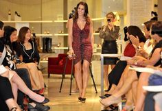 Boston Red Sox Wives Model In Fashion Show For Charity - Tiffany Ortiz