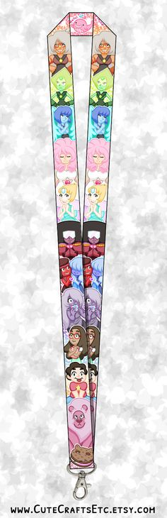 Hey, I found this really awesome Etsy listing at https://www.etsy.com/listing/242123409/steven-universe-lanyard