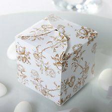 Bella Cream Favour Box
