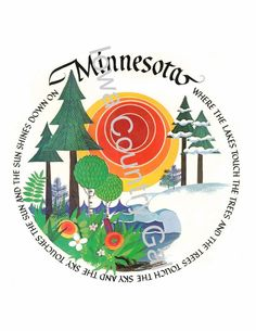 """NEW MINNESOTA LAMINATED SIGN / WALL HANGING  SIZE:  II"""" HIGH X 8.5"""" WIDE"""