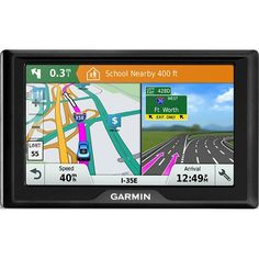 "Garmin - Drive 51LM 5"" GPS with Lifetime Map Updates - Black, 010-01678-06"