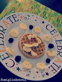 Birthday plate | Have them make their own birthday plate