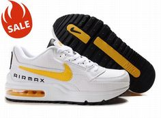 Nike Air Max LTD White/Yellow/Black Mens 32074