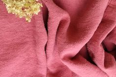 Stunning dyed colorful antique linen, ready for your sewing project. Check out: www.grainsack.at