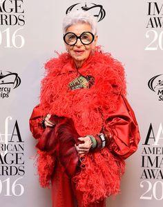 The 94-year-old fashion maverick won big at this year's American Image Awards.