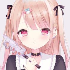 Anime Angel Girl, Anime Art Girl, Anime Girls, Loli Kawaii, Kawaii Anime Girl, Yandere Girl, Cartoon Girl Images, Gothic Anime, Cute Profile Pictures