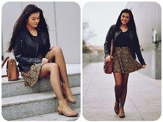 Anna Adamska - Leopard style