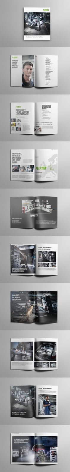 Flexmo | Imagebroschüre #print #imagebrochure #brochure #catalog #magazine #broschüre