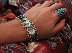 Hey, I found this really awesome Etsy listing at https://www.etsy.com/listing/255194892/statement-coins-bracelet-boho-bohemian