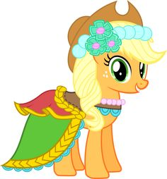 Applejack - Fancy Royal Wedding Duds by DaringDashie on DeviantArt