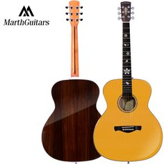 """Solid Spruce Top Rosewood Back and Side Rosewood Fingerboard Acoustic Guitar 40"""" Acoustic Guitarra Free Shipping with Case #Affiliate"""