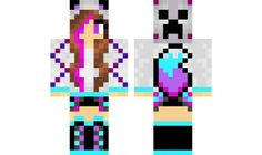 minecraft skin wolf-girl-2 Check out our YouTube : https://www.youtube.com/user/sexypurpleunicorn