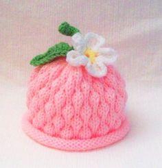Sweet Baby Berry Hat with a Dasiy Flower by LAOriginalsjustkidz, $20.00