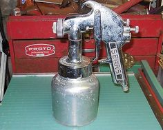 Vintage 1966 Sears CRAFTSMAN Paint Spray Gun w/ Canister/FILTERS  Air