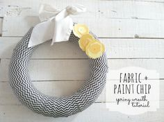 two ten designs: Wrapped Wreath for Spring