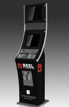 Reel Cinemas Ticketing Kiosk