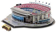 Nanostad FC Barcelona Camp Nou Stadium 3D Puzzle * Visit the image link more details. Note:It is affiliate link to Amazon.