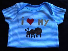 @Mandy Diffendorf ....Custom Baby Appliqued Onesie by MelsLittleBoutique on Etsy