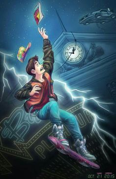 Back to the Future. Marty McFly